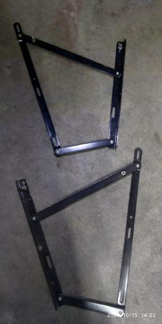 Soportes para hidráulicos de canapé de 150x190