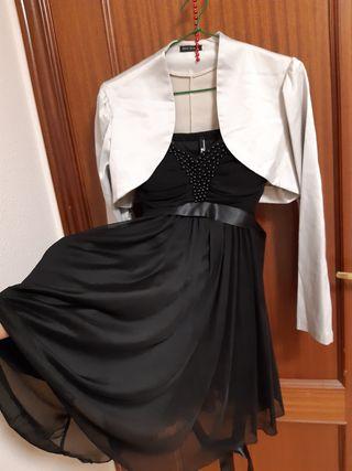 Vestido fiesta/Negro