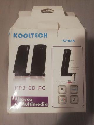 Se venden altavoces para MP3, CD, PC