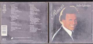 JULIO IGLESIAS RAICES CD