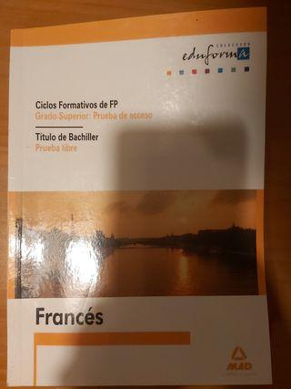 LIBRO PRUEBA ACCESO FRANCÉS Eduforma EDTORIAL MAD