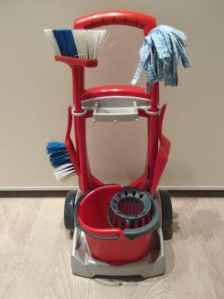 Carrito de limpieza de juguete Vileda