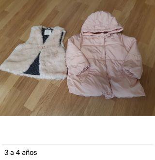 Pack 5 Chaquetas (3-4 años niña)