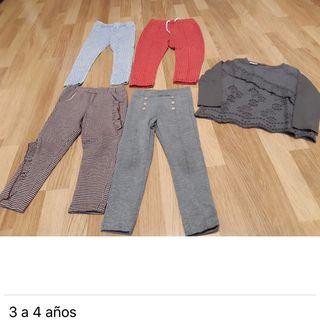Pack ropa niña 2-4 años