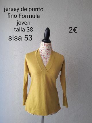 jersey mujer talla 38