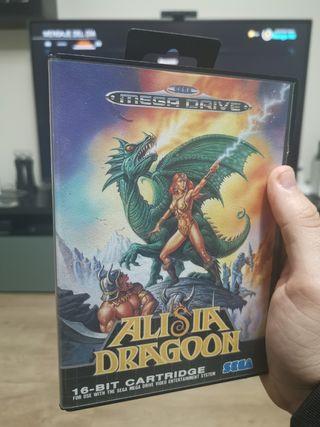 Alisia Dragoon Mega Drive completo