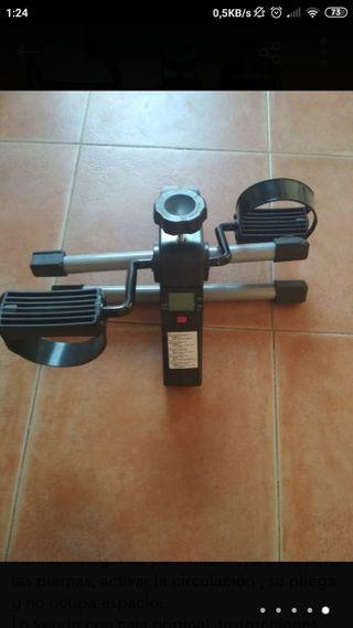 Bicicleta estática, mantenimiento, rehabilitación