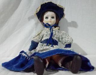vestido de tela de epoca