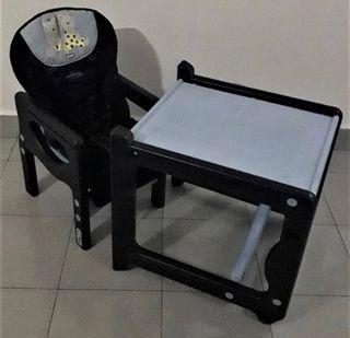 Trona jane convertible en mesa y silla