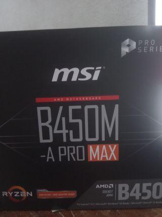 Placa base Msi Nueva