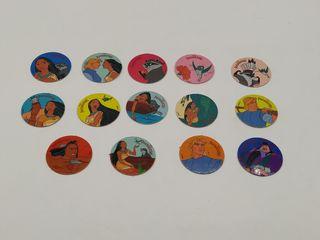 Tazos Pocahontas Disney