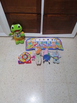 lote juguetes bebe interactivos