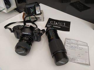 cámara fotos analogica