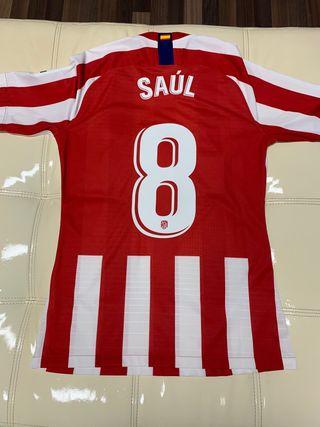 Camiseta versión jugador del Atlético de Madrid