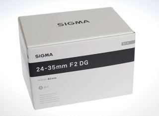 Sigma 24-35mm DG HSM ART para Nikon