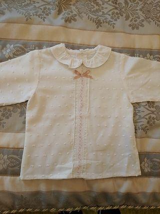 Camisa blanca Niña. Niña 18M