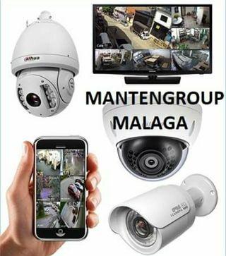 CAMARAS DE SEGURIDAD Mantengroup Malaga
