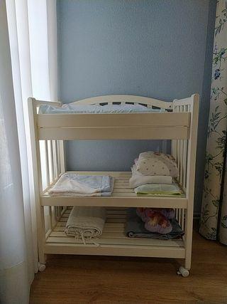 mueble cambiador infantil