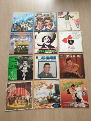 Lote discos vinilo