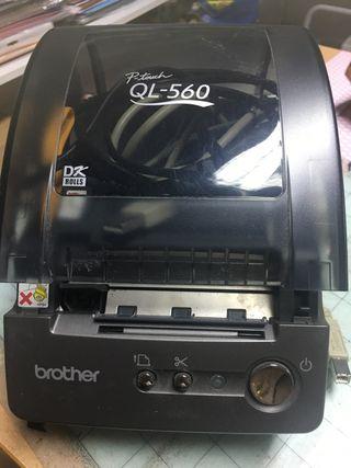 Brother ql-560 para pegatinas