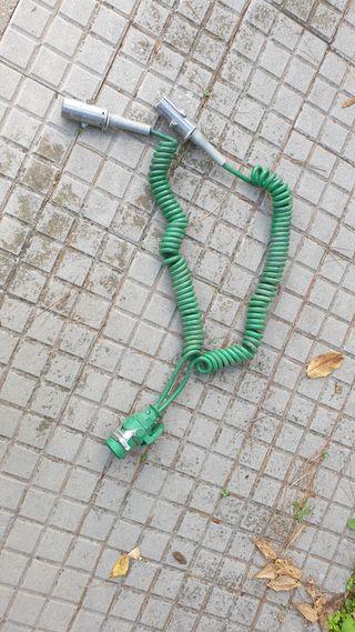 Toma corriente espiral tractora