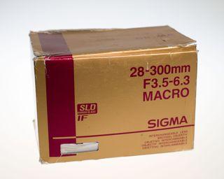 SIGMA 28-300mm F3.5-6.6 ultracompacto para Nikon