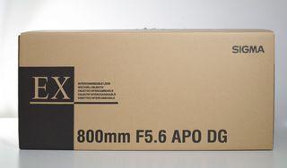 SIGMA 800mm F 5.6 EX APO DG HSM para Canon