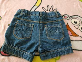Pantalón Corto Talla 4 años