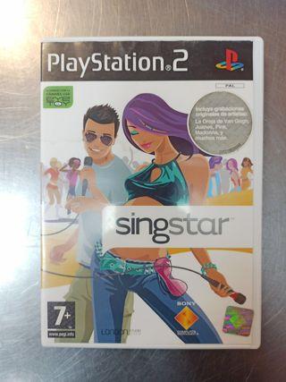 Singstar, PS2
