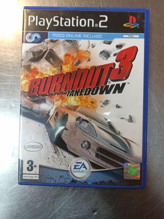 Burnout 3, PS2