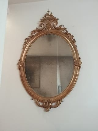 Espejo Isabelino siglo XIX