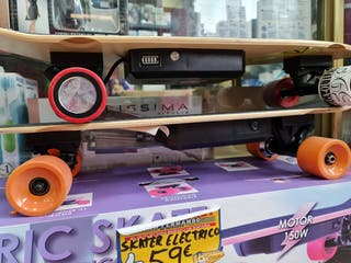 MONOPATIN ELECTRICO MOTOR 150W