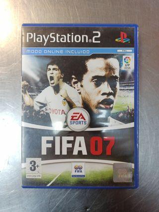 FIFA 07, PS2