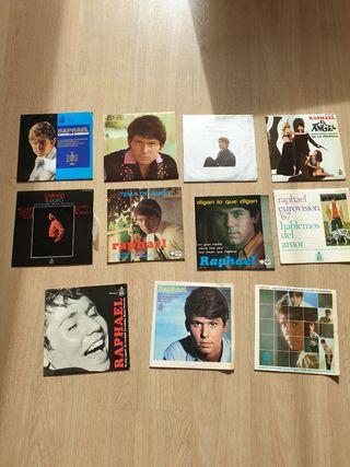 Lote discos singles vinilo Raphael años 60