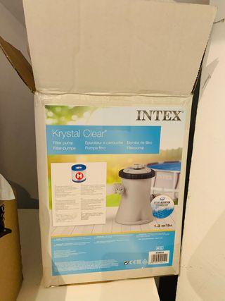Bomba de filtro para piscina INTEX