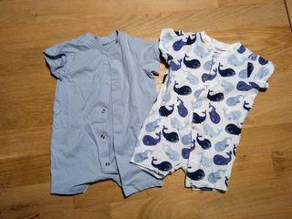 pijamas verano bebé 2 meses