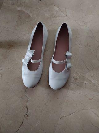 zapatos de comunión niña talla 38