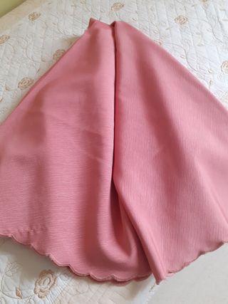 falda de mesa camilla redonda