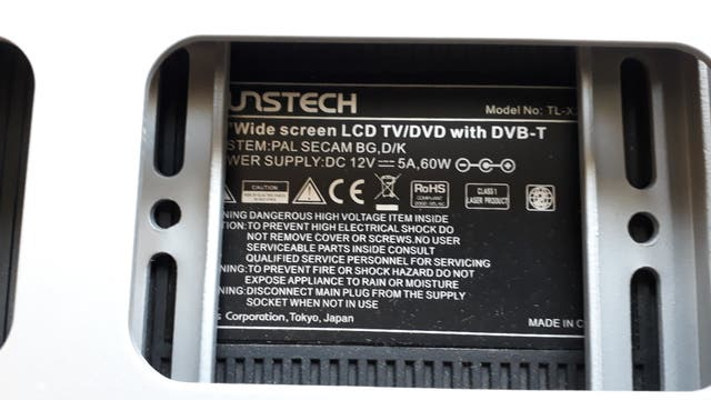 """TV 22"""" con DVD integrado Sunstech"""