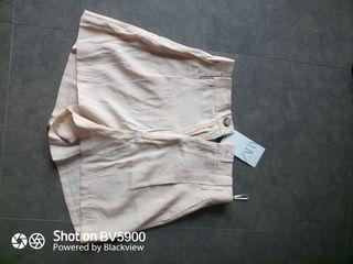 pantalón corto shorts de Zara S con etiqueta