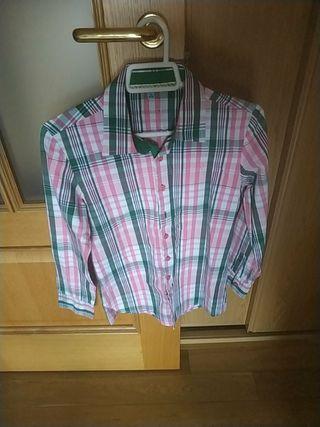 camisa niños Trasluz 11-12 años