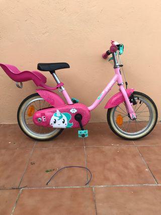 Bici de niña 2 a 4 años