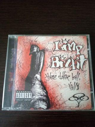 cd,limp bizkit,three dollar bill.