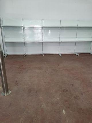 estanterias para alimentación