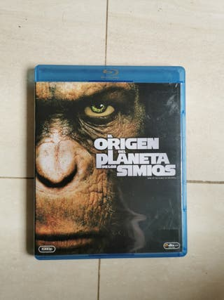 origen planeta de los simios bluray