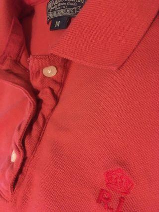 Polo Ralph Lauren rosa mujer (M) Nuevo