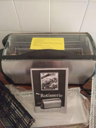 Horno portátil Rotusserie