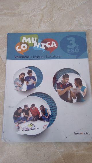 Libro de texto, Valenciano 3° ESO