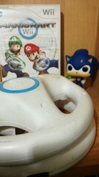 Wii Mario Kart + 2 volantes