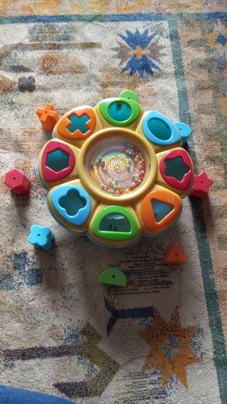 Puzzle bebé y sonajeros